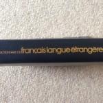 [フランス語]ラルースやさしい仏仏辞典から語彙習得のヒントを得る